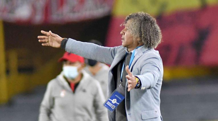 Millonarios vs Santa Fe, Liga Betplay 2021, Alberto Gamero