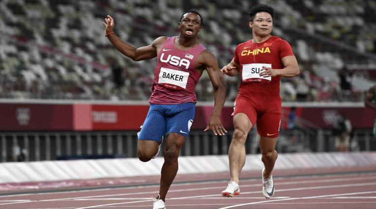 Ronnie Baker, atleta de Estados Unidos en los Juegos Olímpicos