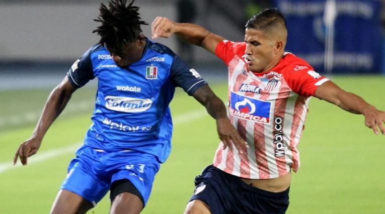 Once Caldas vs Junior, Liga Betplay 2021