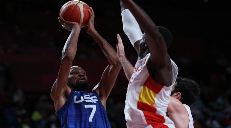 Estados Unidos en el baloncesto olímpico