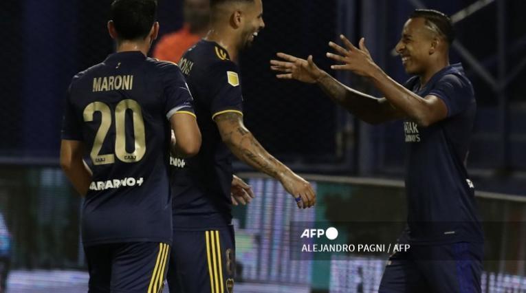 Edwin Cardona y Sebastián Villa, Boca Juniors