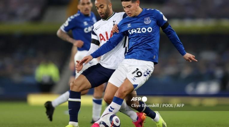 James Rodríguez, Everton