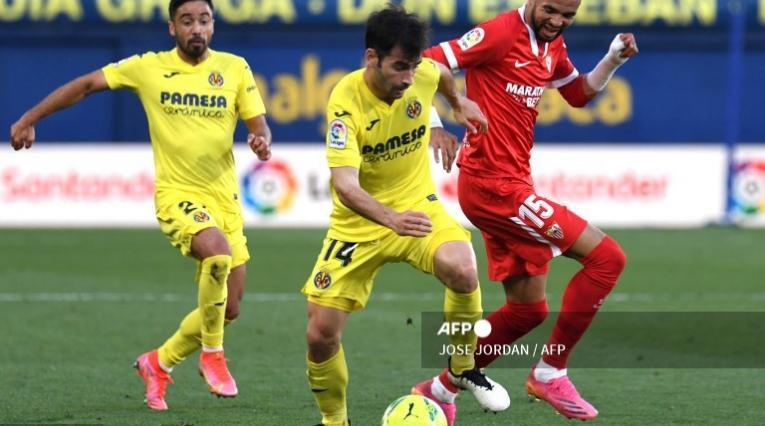 Villarreal vs Sevilla, Liga española
