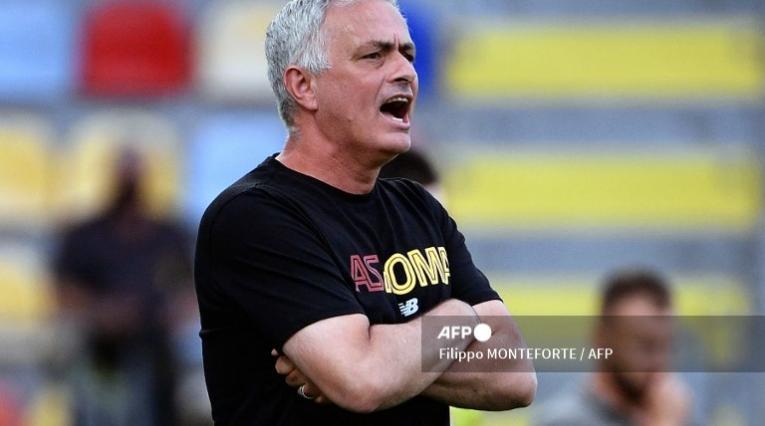 José Mourinho, técnico Roma