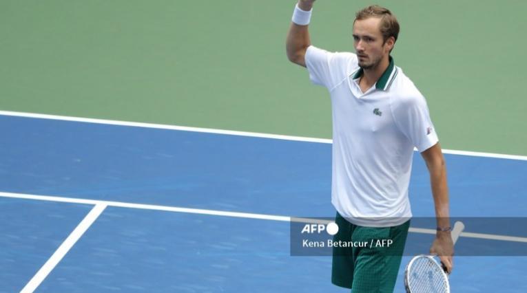 Daniil Medvedev, tenista ruso