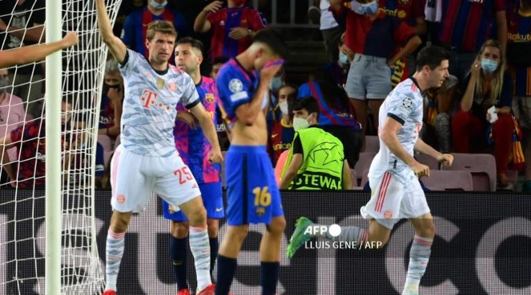 Barcelona vs Bayern Múnich 2021