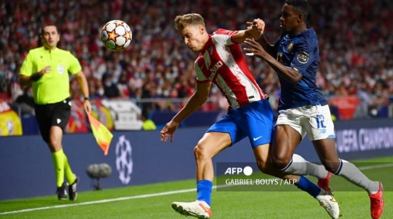 Atlético de Madrid vs Porto