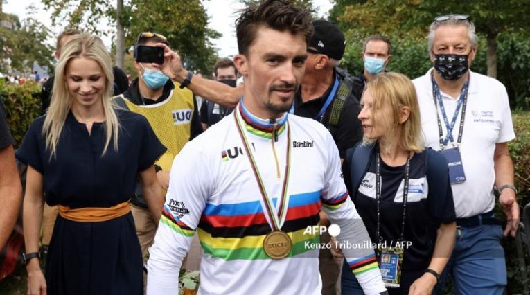 Julian Alaphilippe, ciclista francés