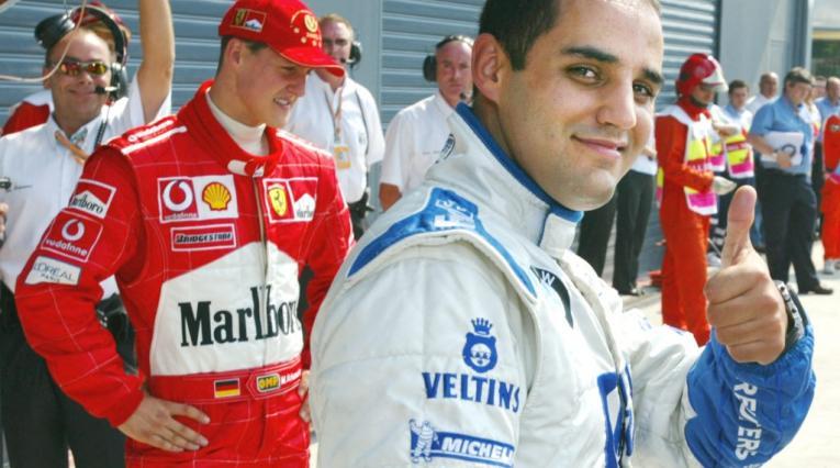Juan Pablo Montoya, noticias Fórmula 1, Michael Schumacher