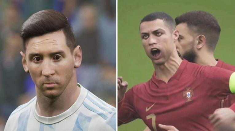 Messi y Cristiano, eFootball 2022