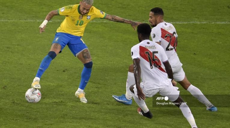 Brasil vs Perú Copa América 2021-II