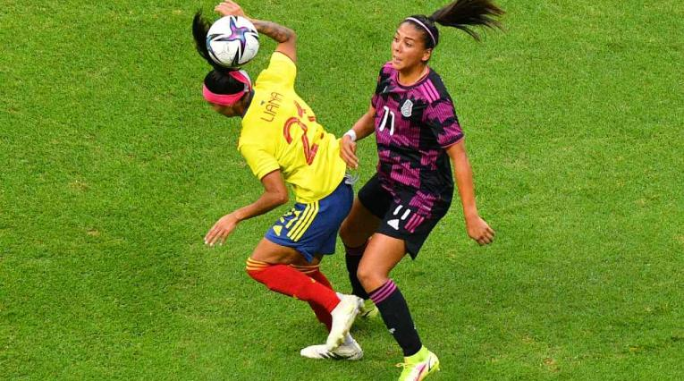 México Vs Colombia - Amistoso femenino