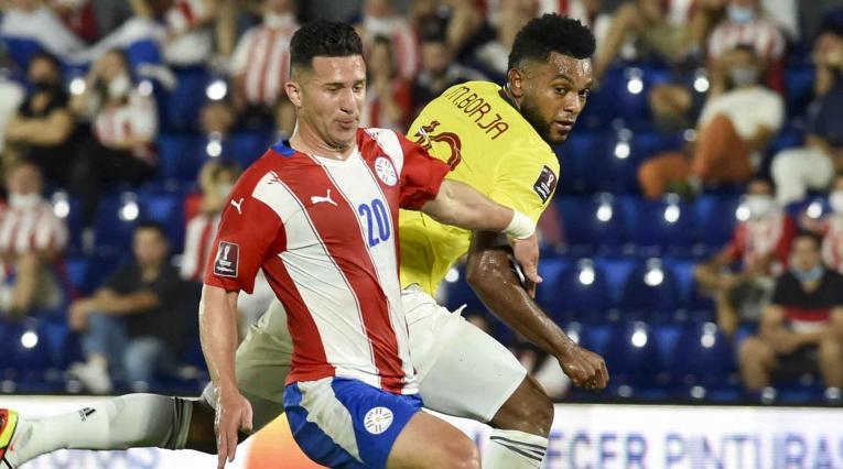 Selección Colombia y Paraguay
