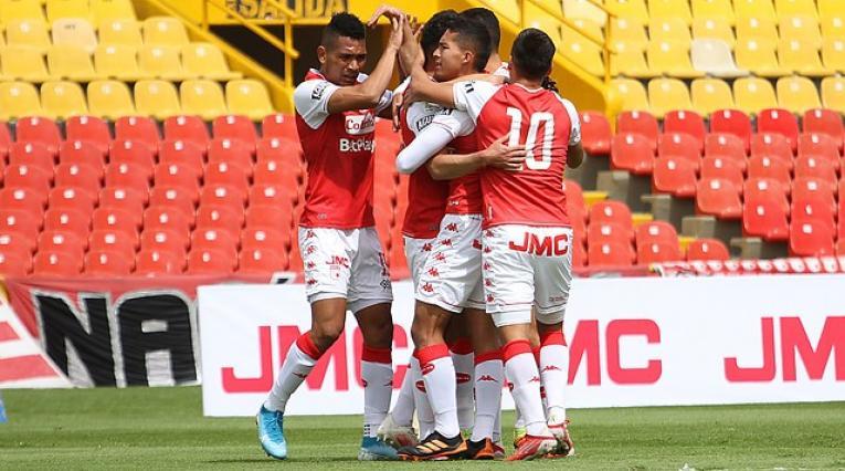 Santa Fe vs Bucaramanga por Copa BetPlay