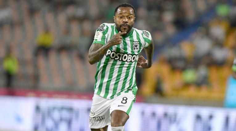 Dorlan Pabón, jugador de Nacional