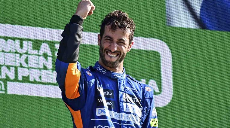 Daniel Ricciardo gana GP de Italia