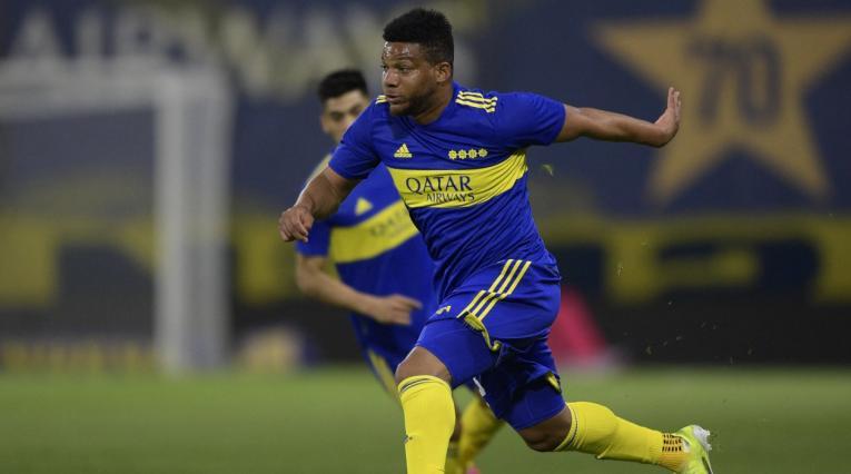 Frank Fabra, lateral de Boca Juniors