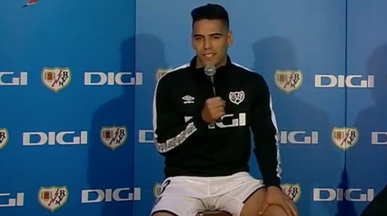 Falcao García, jugador del Rayo Vallecano