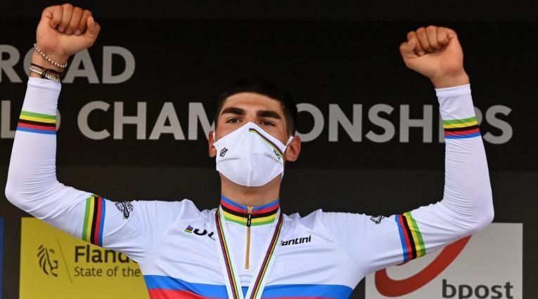 Filippo Baroncini, ciclista italiano