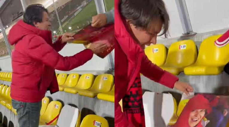 Hincha Independiente Santa Fe