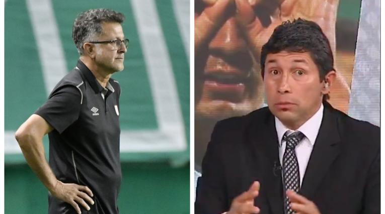 Juan Carlos Osorio y Jorge Bermúdez