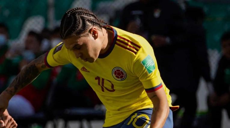 Juan Fernando Quintero, jugador colombiano