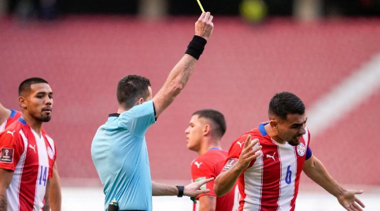 Junior Alonso - defensa de Paraguay