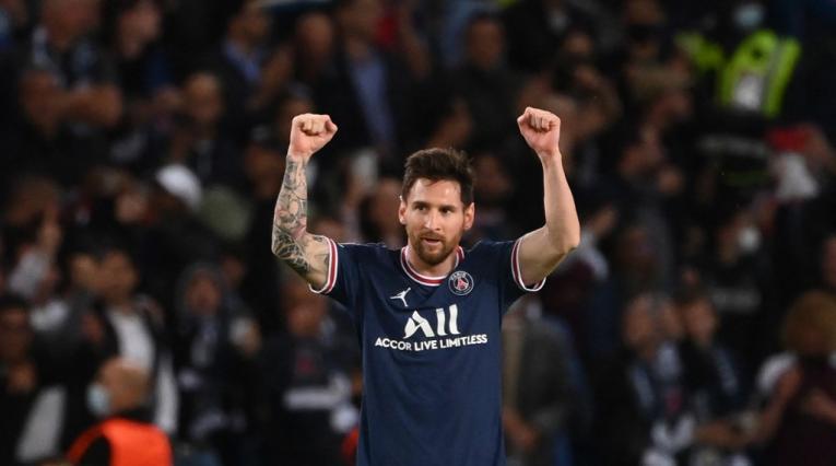 Lionel Messi, PSG 2021-II