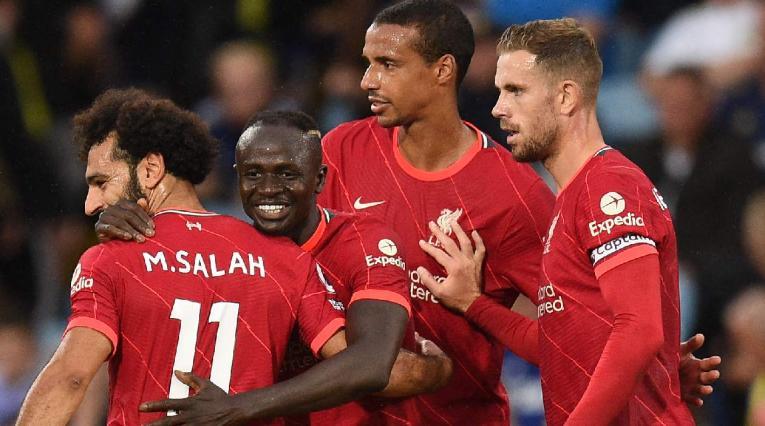 Liverpool derrotó a Leeds en la Premier League.