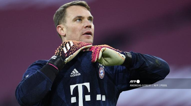 Manuel Neuer, arquero del Bayern Múnich