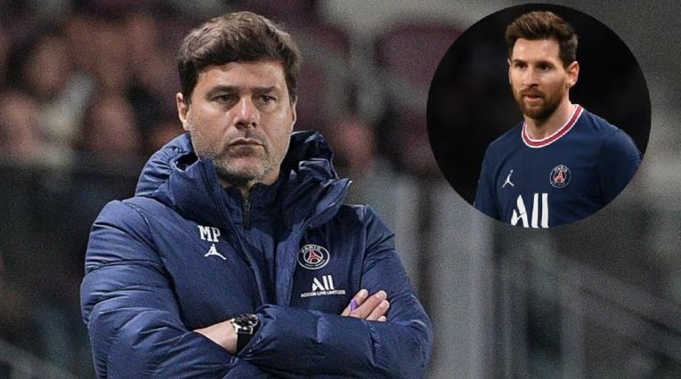 Mauricio Pochettino y Messi