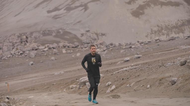 Mauricio Salazar, atleta colombiano