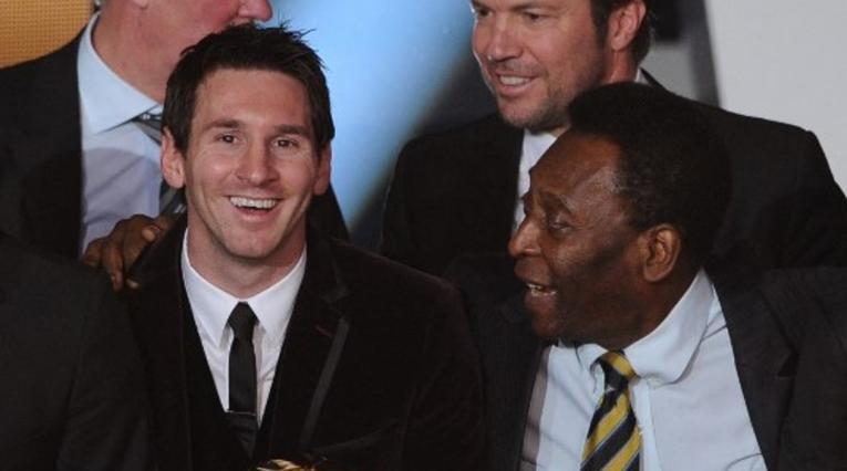 Messi y Pelé