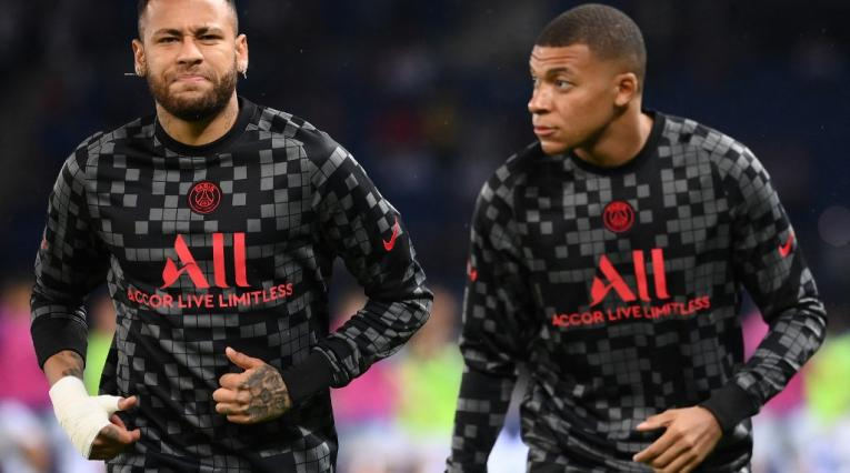 Neymar y Mbappé