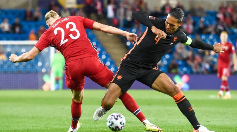 Noruega enfrentó a Países Bajos en la Eliminatoria
