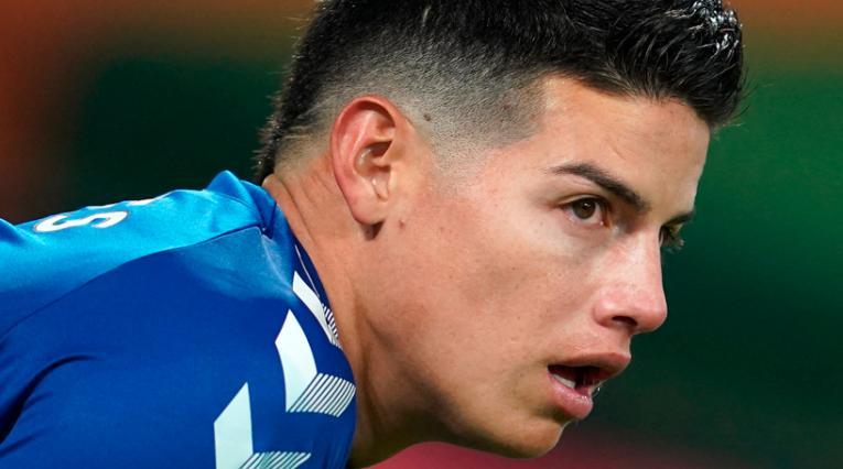 Noticias James Rodríguez, Everton, Premier League hoy