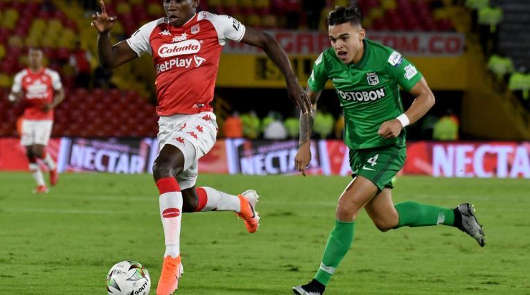 Santa Fe vs Nacional Copa Betplay 2021-II
