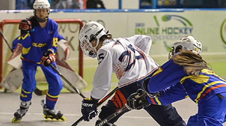 Selección Colombia femenina de Hockey en Línea