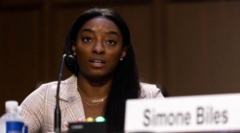 Simone Biles, gimnasta olímpica