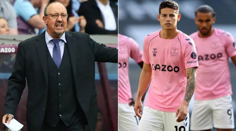 James Rodríguez hoy, Rafa Benítez, Premier League noticias