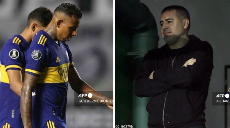 Sebastián Villa y Juan Román Riquelme