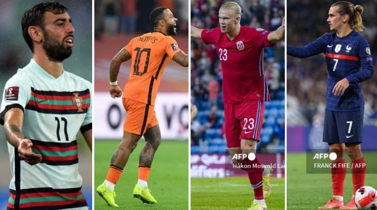 Portugal, Holanda, Noruega y Francia, eliminatoria europea