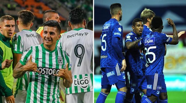 Atlético Nacional y Millonarios, Liga BetPlay
