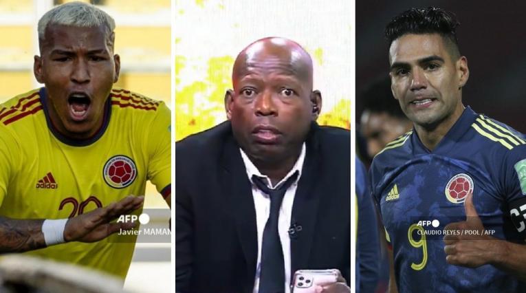 Roger Martínez, Faustino Asprilla y Falcao García