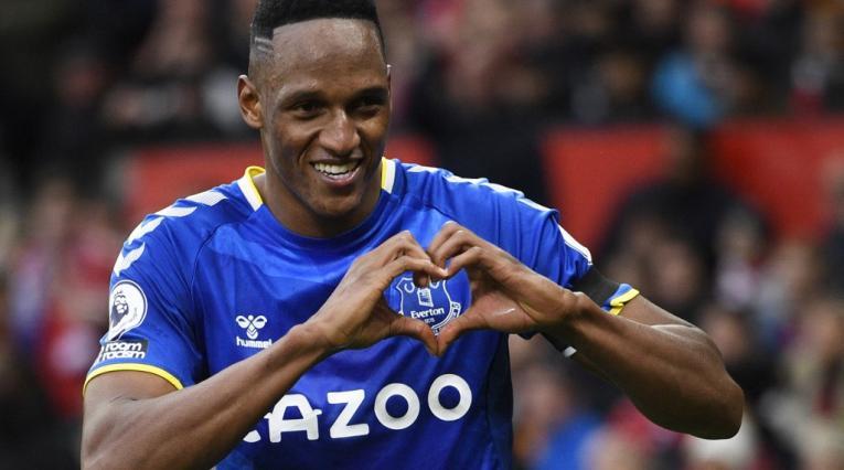Yerry Mina, Premier League, Manchester United vs Everton