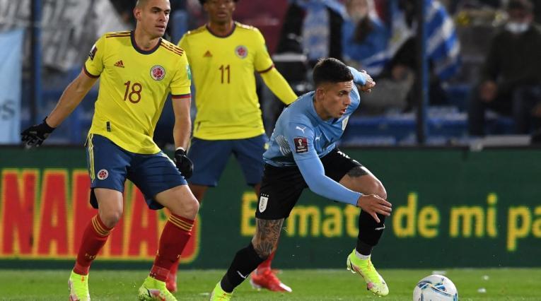 Selección Colombia vs Uruguay, Eliminatorias Qatar 2022