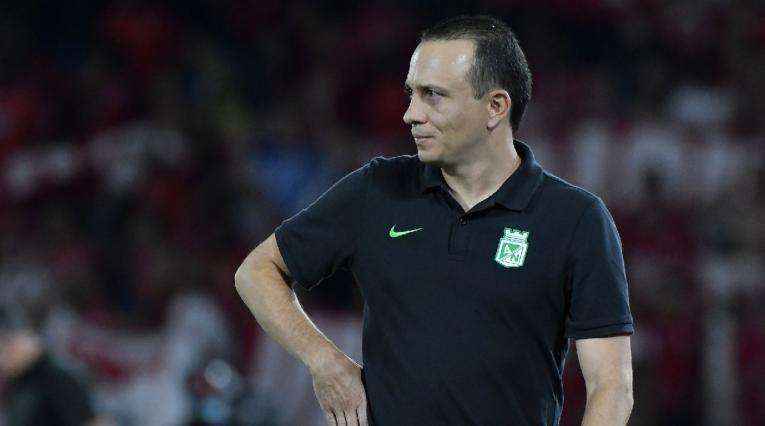 Alejandro Restrepo, entrenador de Atlético Nacional
