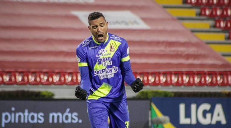 Álvaro Montero, arquero de Deportes Tolima