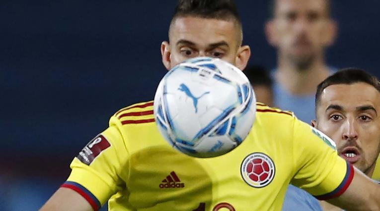 Santos Borré, delantero de la Selección Colombia
