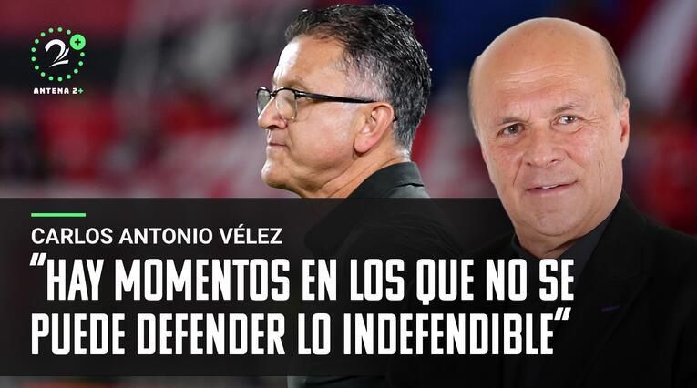 Carlos Antonio Vélez, Palabras Mayores 25 octubre 2021